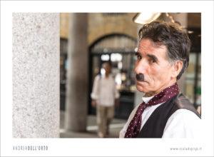 Charlie Chaplin ritratto Andrea Dell'Orto